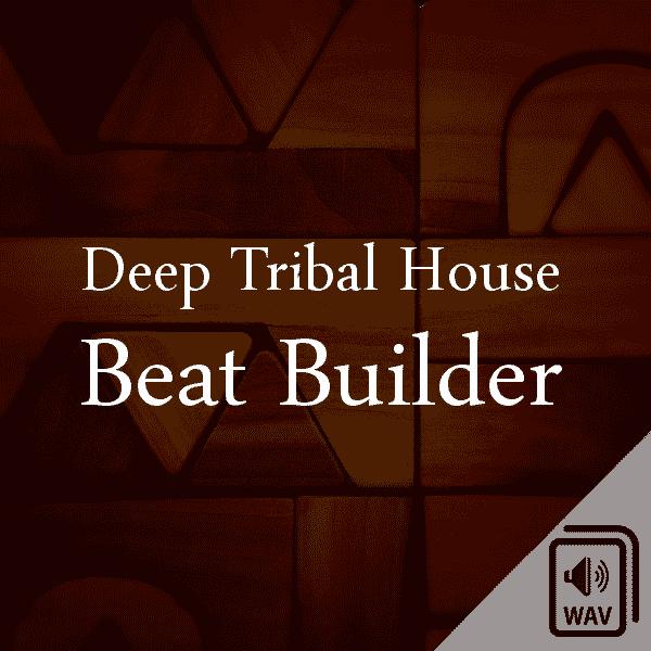 Deep Tribal House Sample Library Logo Beat