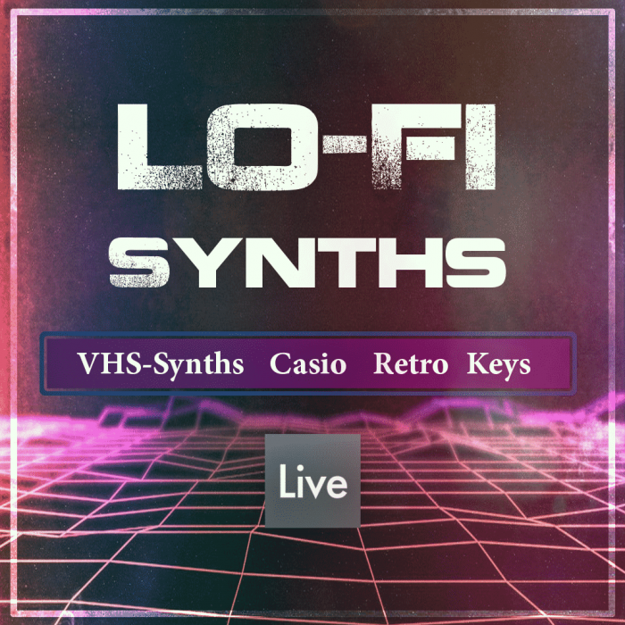 Lo-fi and Vintage Tape Synths in Ableton Live